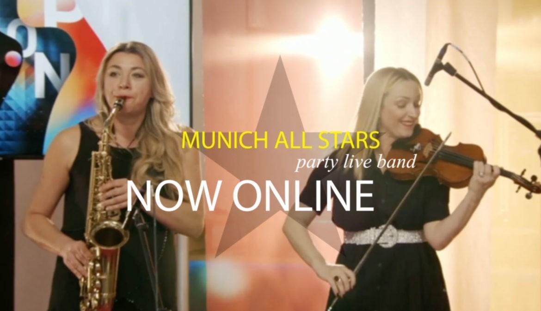 Munich All Stars - Band für online Events buchen!